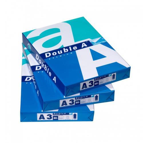 Double A Fotokopi Kağıdı A3 80gram 1KOLİ 5PAKET 2500 YAPRAK