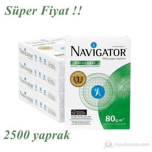 Navigator A4 80 Gr/m² Fotokopi Kağıdı 1koli 5paket 2500yaprak