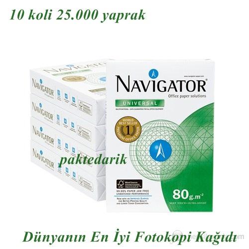Navigator A4 Fotokopi Kağıdı 80gr 2500yaprak X 10 koli