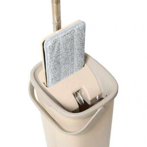 Spin Mop Tablet Mop Temizlik Seti Krem 5 L